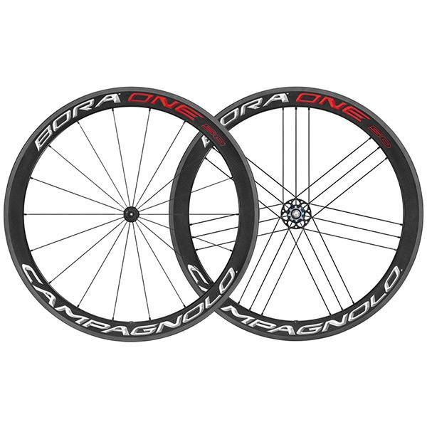 Campagnolo Components > Factory Wheels Campagnolo Bora One 50 Carbon Clincher Wheels 2018