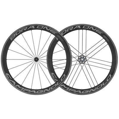 Campagnolo Components > Factory Wheels Campagnolo Bora One 50 Tubular Dark Label Wheels 2018
