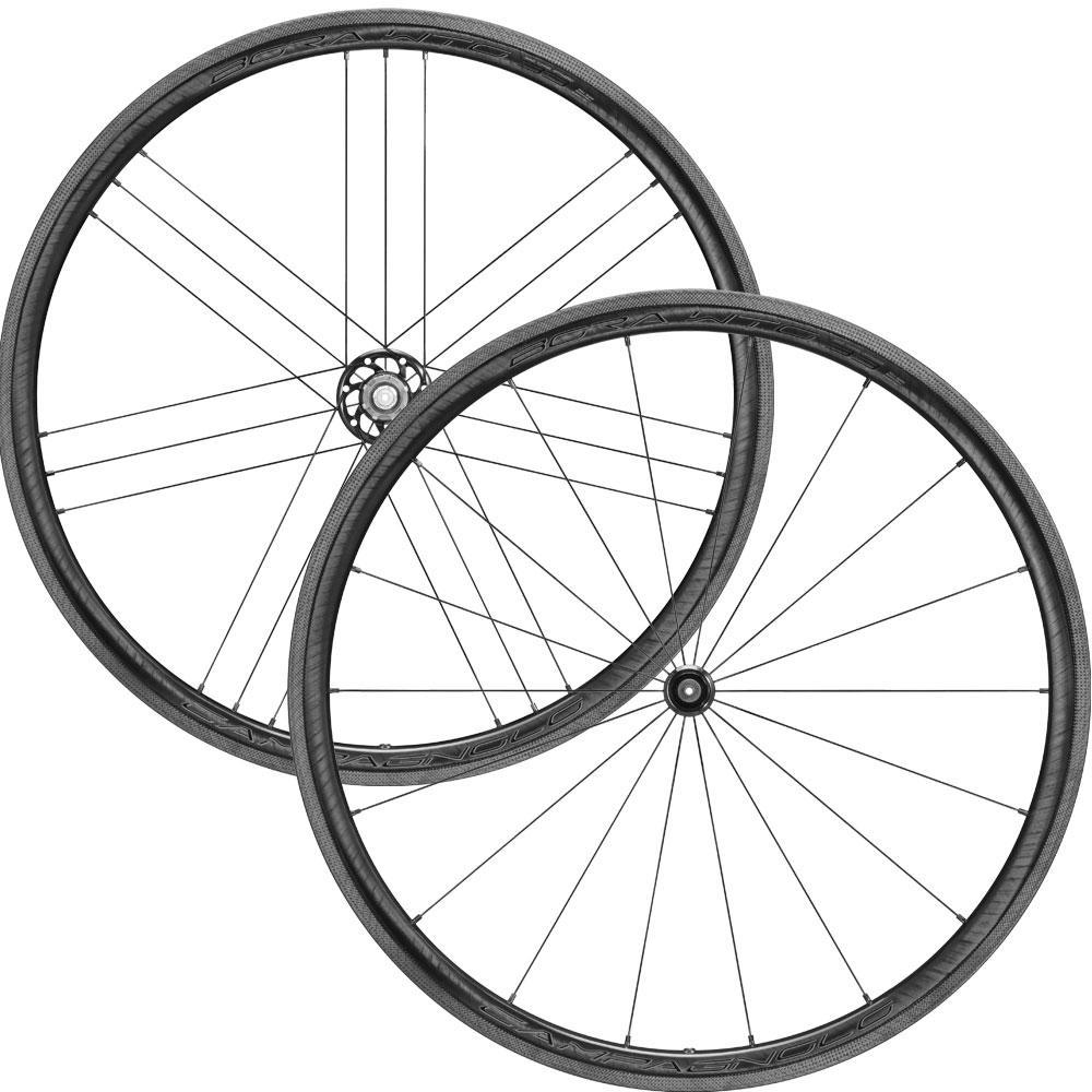 Campagnolo Components > Factory Wheels Campagnolo Bora WTO 33 Dark Label 2-Way Fit Clincher Wheelset