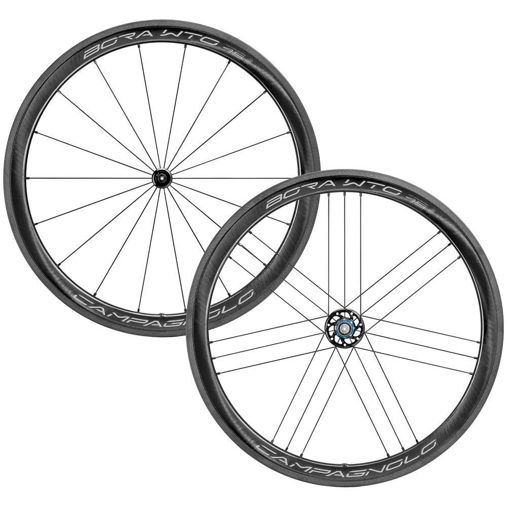 Campagnolo Components > Factory Wheels Shimano Campagnolo Bora 45 WTO 2-Way Fit Clincher