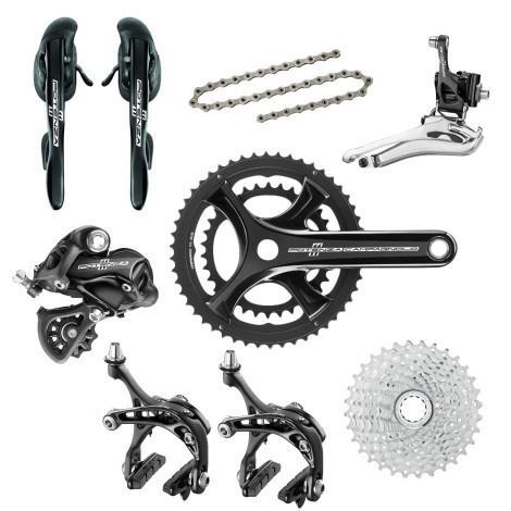 Campagnolo Components > Groupsets Campagnolo Potenza Black 11 Speed Groupset