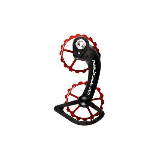 CeramicSpeed Components > Chains & Chainlinks,Components > Gears CeramicSpeed OSPW SYSTEM COATED (SRAM RED/FORCE AXS, RED)