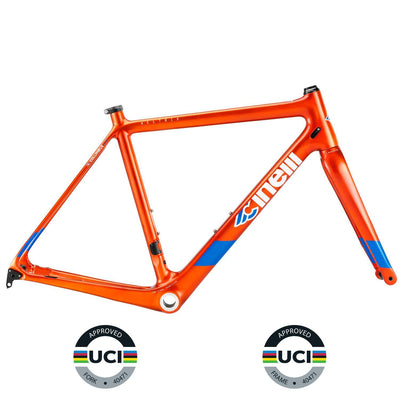 Cinelli Components > Frames Cinelli Veltrix Disc Orange Frameset