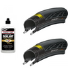 Continental GP5000 Tubeless Tyres & 8oz Finish Line Sealant Bundle