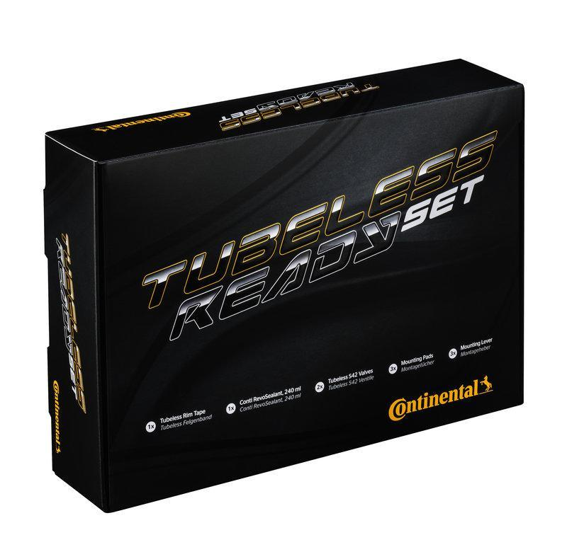 Continental Components > Tyres & Tubulars Continental Tubeless Ready Kit