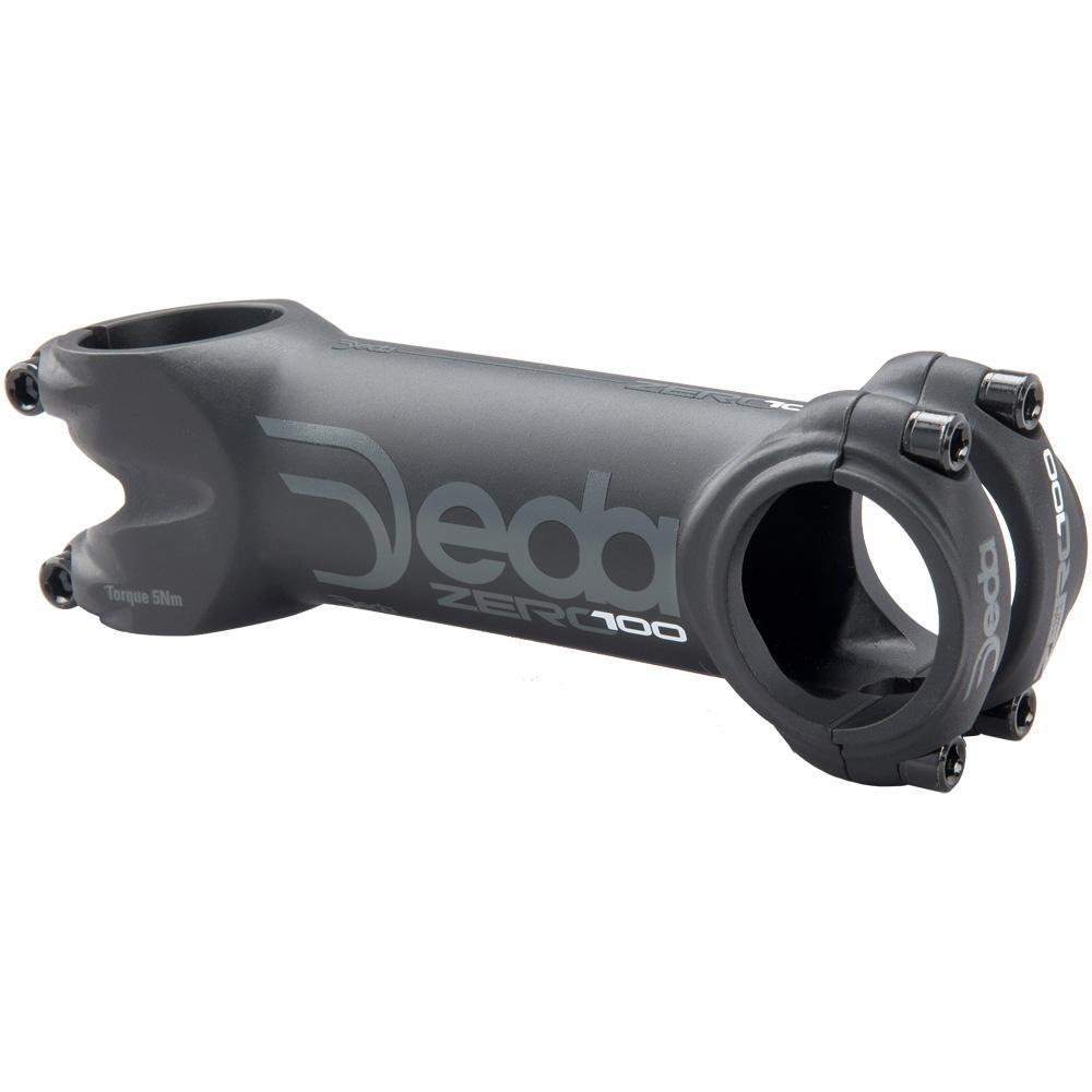 deda Components > Handlebars & Stems 80mm / Black on Black Deda Zero100 Stem