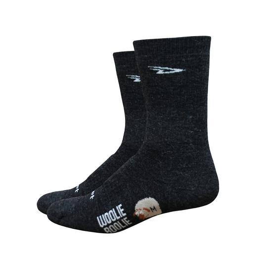 "Defeet Cycle Clothing > Socks DeFeet Woolie Boolie 2 6"" Cuff Cycling Socks"