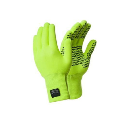 Dexshell Cycle Clothing > Gloves & Mitts DEXSHELL TOUCHFIT GLOVES ADULTS HI-VIS YELLOW