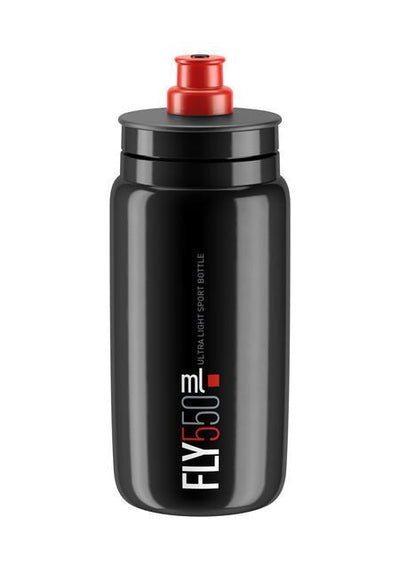ELITE Accessories > Bottles Black / Red Elite FLY Bottle 550ml