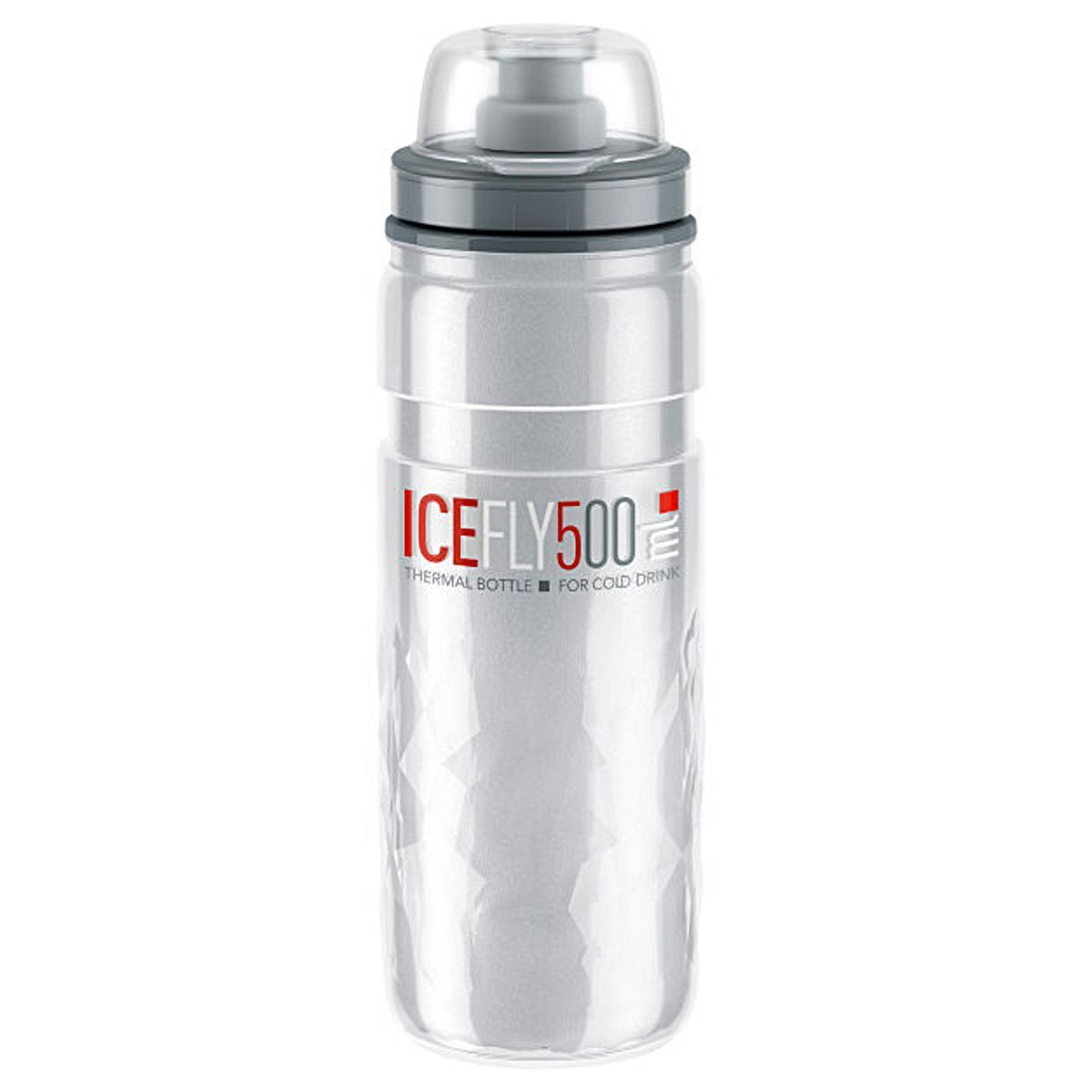 ELITE Accessories > Bottles Clear Elite Ice Fly Thermal 2 hour 500 ml Bottle