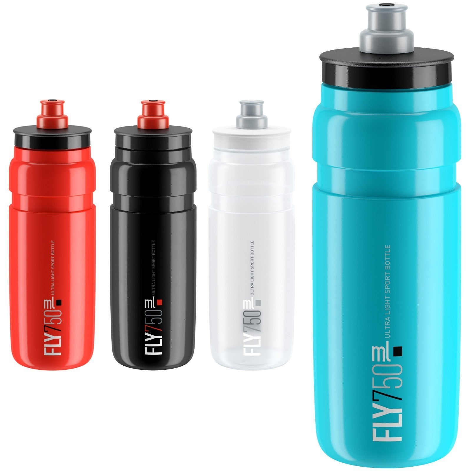 ELITE Accessories > Bottles Clear / Grey ELITE Fly Bottle 750ml