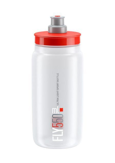 ELITE Accessories > Bottles Clear / Red Elite FLY Bottle 550ml