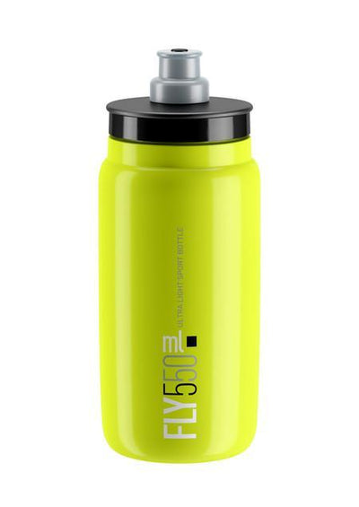 ELITE Accessories > Bottles Fluoro Yellow Elite FLY Bottle 550ml