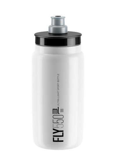 ELITE Accessories > Bottles White Elite FLY Bottle 550ml