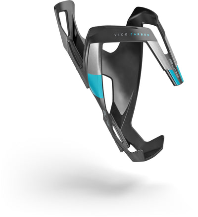 ELITE Components > Bottle Cages Matt Black / Blue ELITE VICO CARBON BOTTLE CAGE