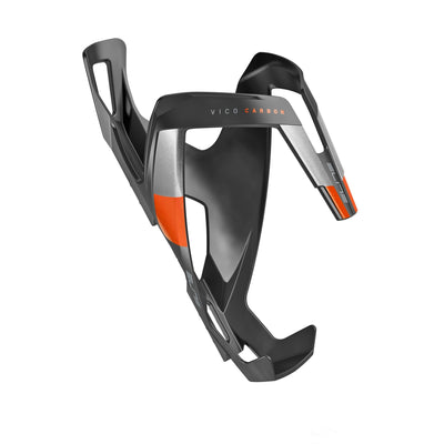 ELITE Components > Bottle Cages Matt Black / Orange ELITE VICO CARBON BOTTLE CAGE