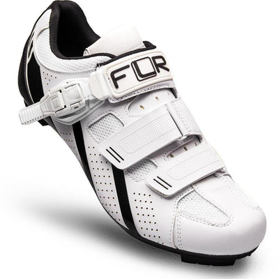 FLR Cycle Clothing > Shoes 41 / Matt White/Black FLR F-15.III Road Shoe