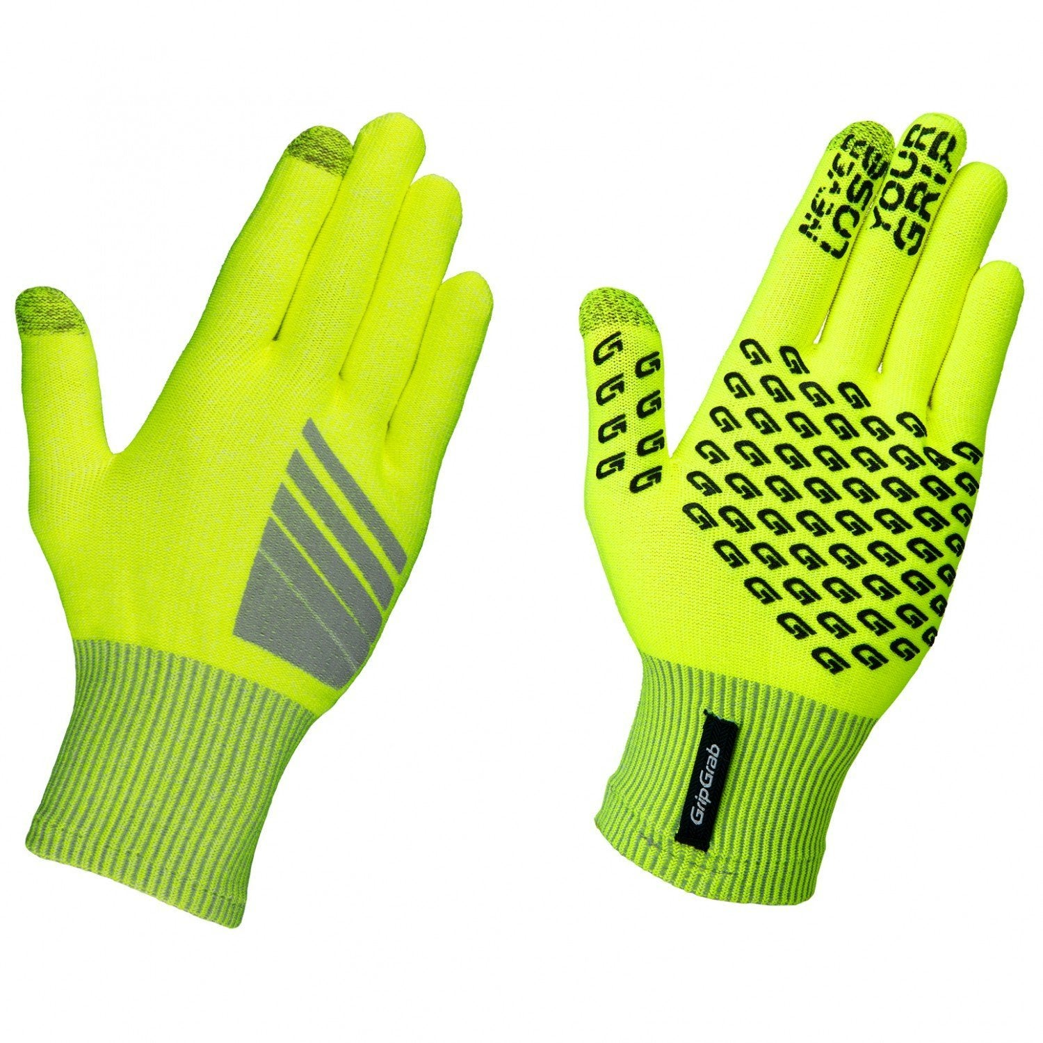 GripGrab Cycle Clothing > Gloves & Mitts GripGrab PRIMAVERA HI-VIS GLOVES