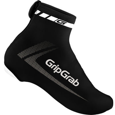 GripGrab Cycle Clothing > Overshoes Black GripGrab RaceAero Lycra overshoes
