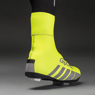 GripGrab Cycle Clothing > Overshoes GripGrab Race Thermo Hi-Vis Overshoes