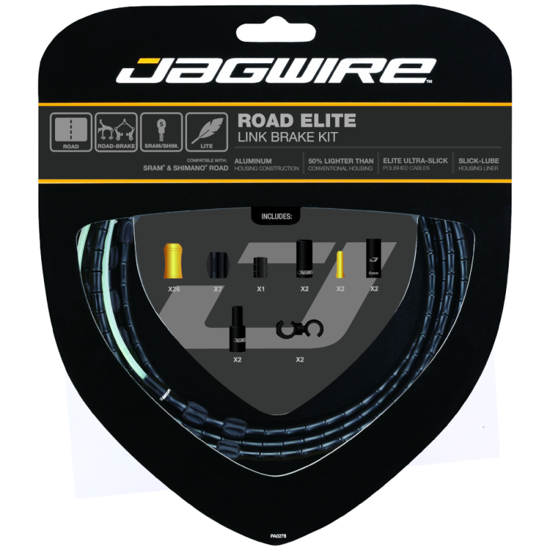 jagwire Components > Cassettes & Cables Jagwire Road Elite Link Brake Cable Kit