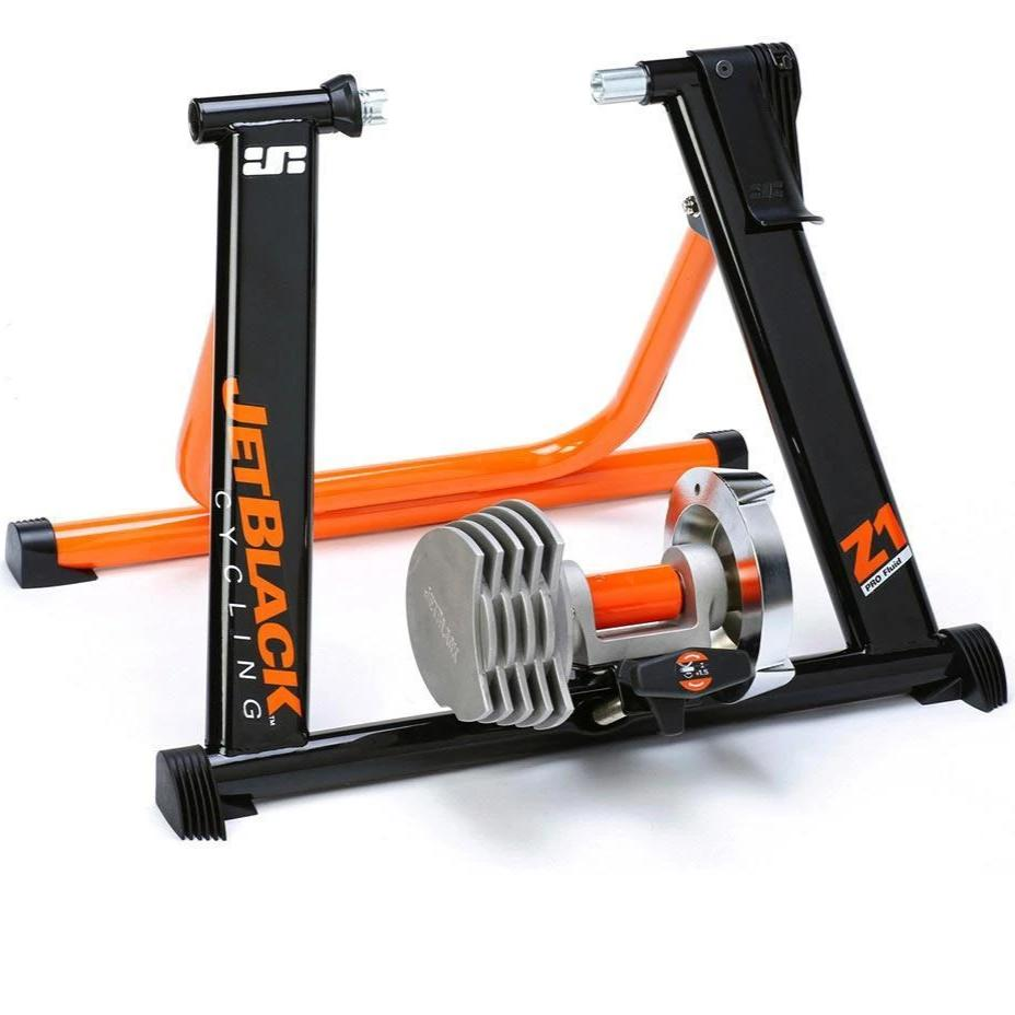 JetBlack Accessories > Indoor Trainers Jetblack Z1 Pro Fluid SQR Turbo Trainer + App