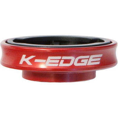 K-Edge Accessories > Computers Red K-Edge Garmin Gravity Cap Mount, Black