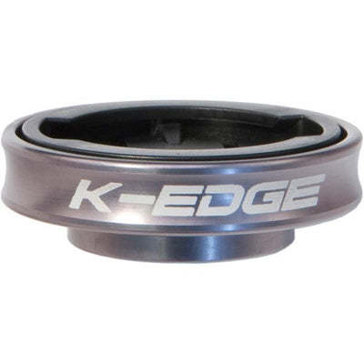 K-Edge Accessories > Computers Silver K-Edge Garmin Gravity Cap Mount, Black