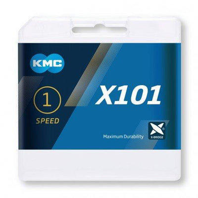 KMC Components > Chains & Chainlinks KMC X101 Track 1 Speed Chain Gold