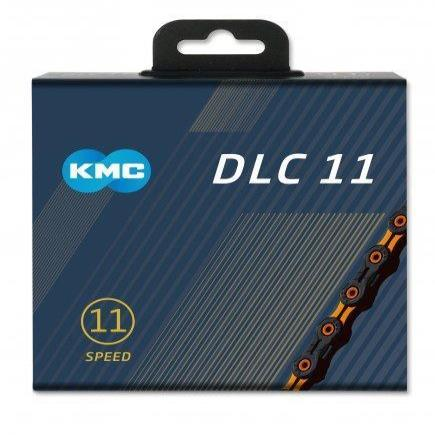 KMC Components > Chains & Chainlinks KMC X11-SL DLC Black/Orange