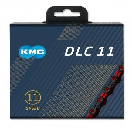 KMC Components > Chains & Chainlinks KMC X11-SL DLC Black/Red Chain