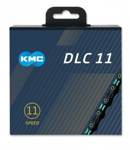KMC Components > Chains & Chainlinks KMC X11-SL DLC Celeste Chain