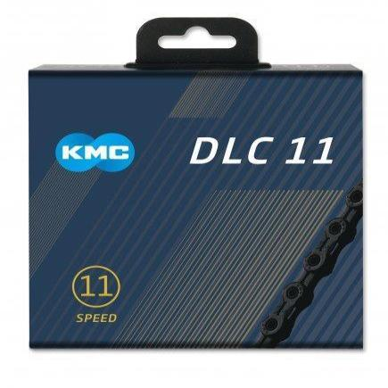 KMC Components > Chains & Chainlinks KMC X11SL DLC 11 Speed Chain Black