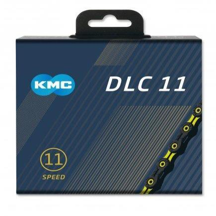 KMC Components > Chains & Chainlinks KMC X11SL DLC Black/Yellow  Chain