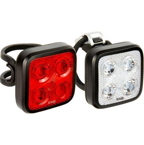 Knog Accessories > Lights & Reflectives Knog Blinder Mob Four Eyes Light Twinpack Black