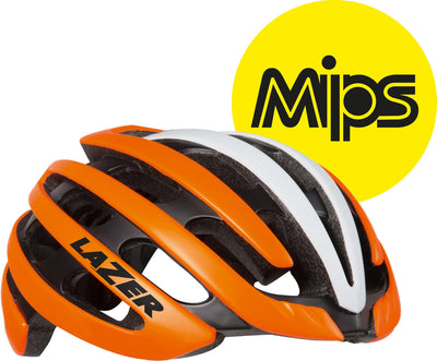 Lazer Cycle Clothing > Helmets M/flash orange / white Lazer Z1 With MIPS Road Cycling Helmet