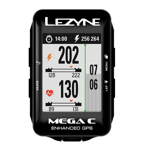 Lezyne Accessories > Computers Lezyne Mega C Loaded GPS Computer
