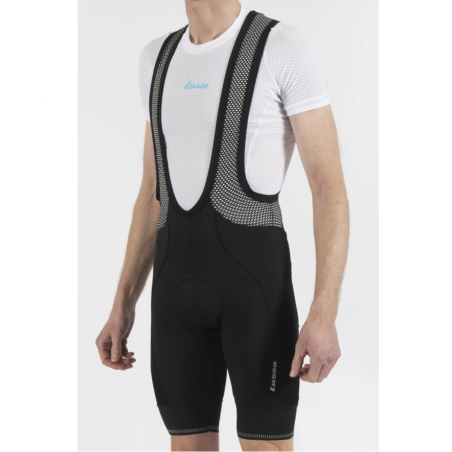 Lusso Cycle Clothing > Bibshorts & Bibtights Lusso Carbon Bib Shorts V2