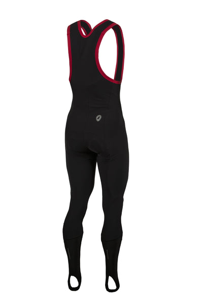 Lusso Cycle Clothing > Bibshorts & Bibtights Lusso Thermal Roubaix  Bib Tights with pad