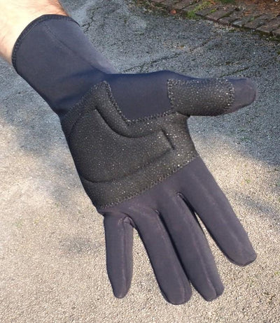 Lusso Cycle Clothing > Gloves & Mitts Lusso Windtex Gloves Black