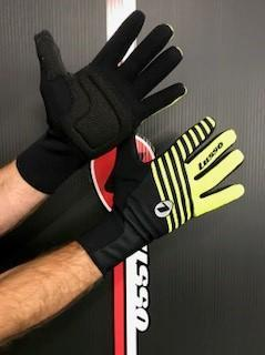 Lusso Cycle Clothing > Gloves & Mitts Lusso Windtex Vision Gloves Black/Yellow