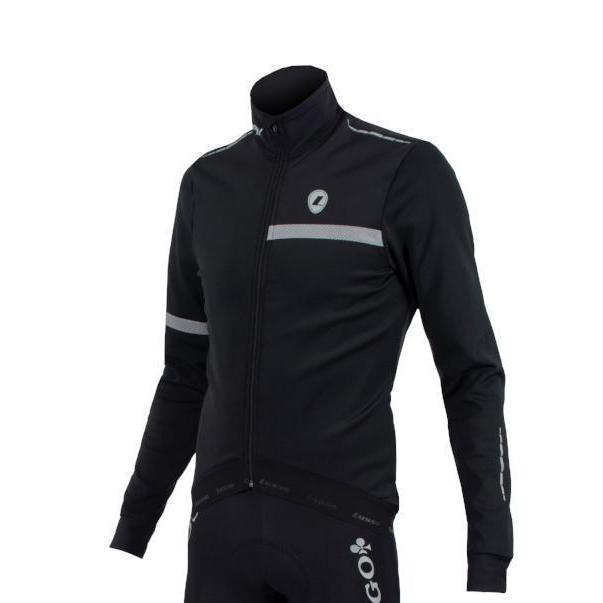 Lusso Cycle Clothing > Jersey & Jackets Lusso Aqua EXTREME Repel Stealth Jacket 2018