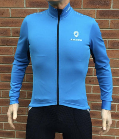 Lusso Cycle Clothing > Jersey & Jackets Lusso Aqua Repel Jacket V2