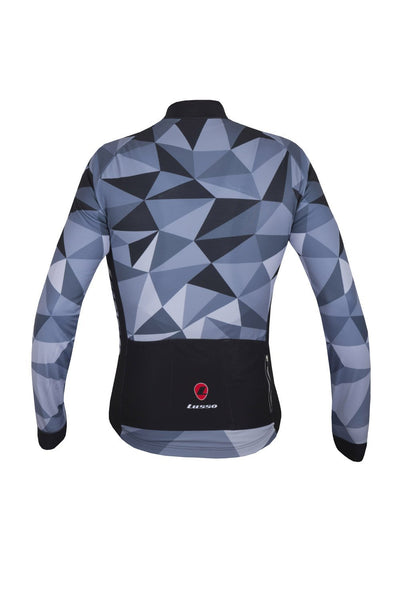 Lusso Cycle Clothing > Jersey & Jackets Lusso Shattered L/S Jersey