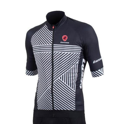 Lusso Cycle Clothing > Jersey & Jackets Lusso Stripes S/S Jersey
