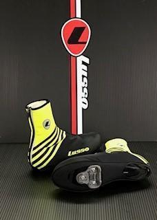 Lusso Cycle Clothing > Overshoes Lusso Windtex Stealth Vision Overshoes