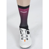 Lusso Cycle Clothing > Socks Lusso Aero Active Fade Plum Black Socks