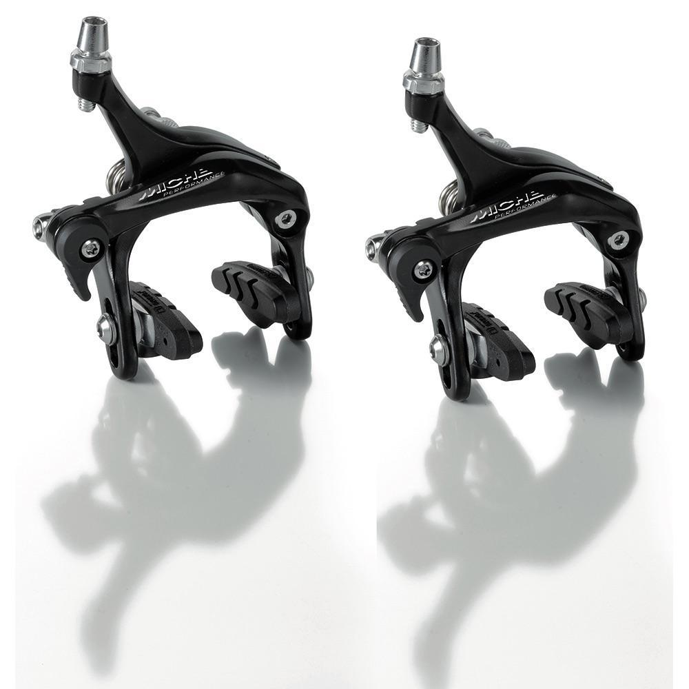 Miche Components > Brakes & Chainsets Black Miche Performance 57MM Drop Brakes