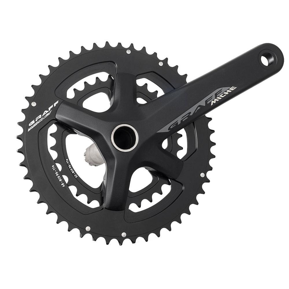 Miche Components > Brakes & Chainsets Miche Graff Chainset