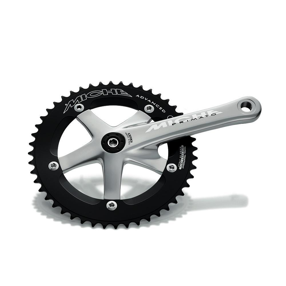 Miche Components > Brakes & Chainsets Miche Primato Advanced Track Chainsets Silver